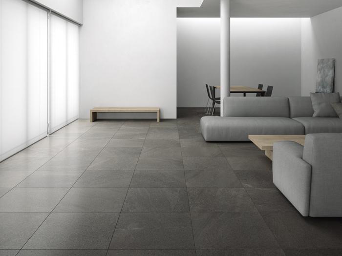Moderne Natuursteenlook Badkamers Jan Groen Tegels