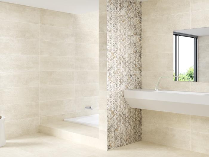 Betonlook Vloertegels In Moderne Badkamer Jan Groen Tegels