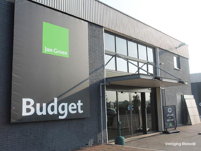 Jan Groen Tegels.Jan Groen Budget