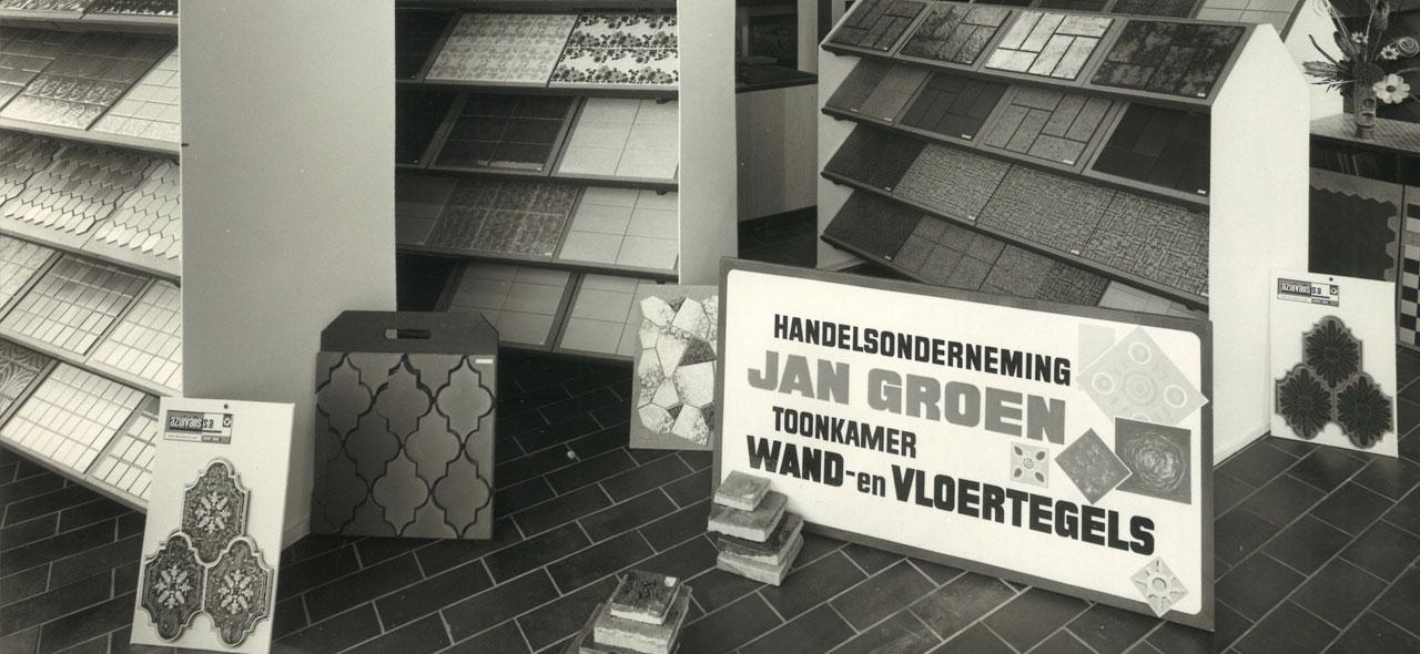 Jan Groen Tegels.Historie